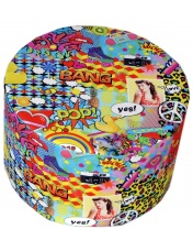 Pouf Art  pop