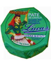 Paté de Cavala em azeite