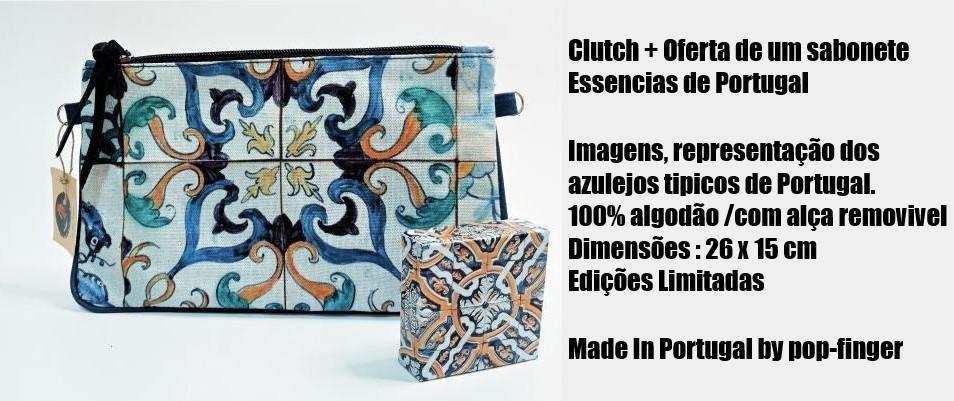 Clutch 43 azulejos